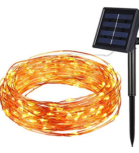 Amir-Solar-Powered-String-Lights-100-LED-Christmas-Lights-Starry-String-Lights-Copper-Wire-Lights-Ambiance-Lighting-for-Outdoor-Gardens-Home-Dancing-Christmas-Party-Warm-White-0