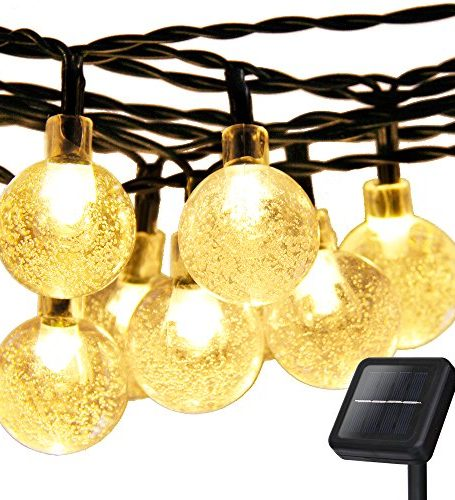 Christmas-Solar-Globe-String-LightsAddlon-LED-Fairy-Lights20ft-30-LED-8work-Modescrystal-Ball-Ambiance-Lighting-for-Outdoor-Garden-Home-Wedding-Christmas-Party-Waterproof-Warm-White-0
