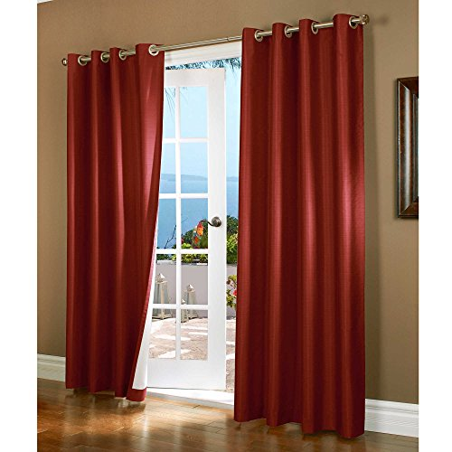 Gorgeous-Home-32-1-PANEL-SOLID-PLAIN-THERMAL-FOAM-LINED-BLACKOUT-HEAVY-THICK-WINDOW-CURTAIN-DRAPES-SILVER-GROMMETS-0