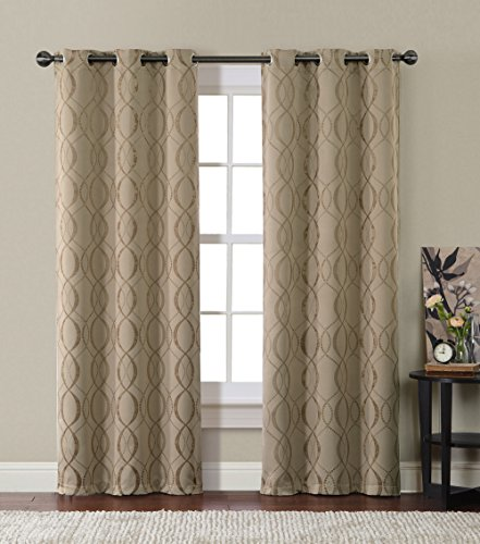 HLCME-Bryant-Energy-Saving-Blackout-Window-Curtain-Grommet-Panels-Pair-84-inch-Long-0
