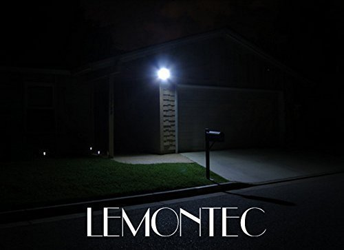 Solar lights lemontec garden waterproof wireless security bright wall light security night lights previous next mozeypictures Images