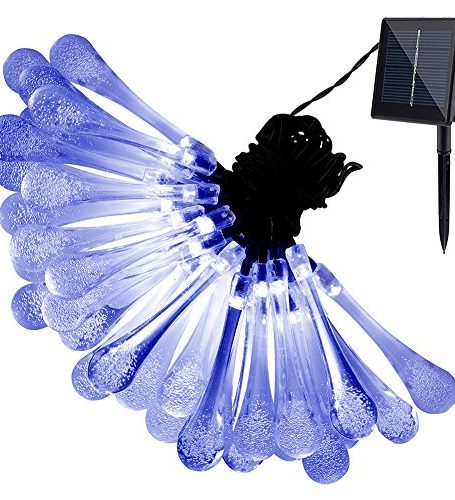Solar-Outdoor-String-LightsURPOWER-20ft-30-LED-Water-Drop-Solar-String-Fairy-Waterproof-Lights-Christmas-Lights-Solar-Powered-String-lights-for-Garden-Patio-Yard-Home-Christmas-Tree-Parties-0
