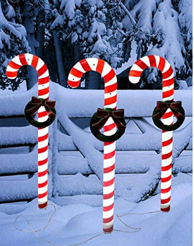 Yinarts-Set-of-3-Xmas-Solar-Candy-Cane-String-Light-0